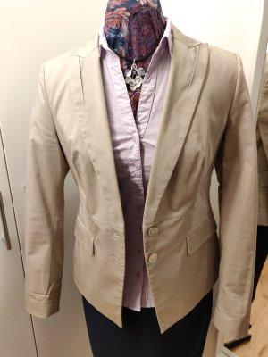 Eleganter Blazer, beige, Baumwolle, Gr 38, Perlmutt, Esprit