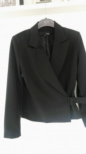 Hennes Collection by H&M Tuxedo Blazer black viscose