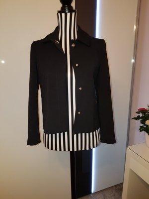 Zara Blazer en jersey noir