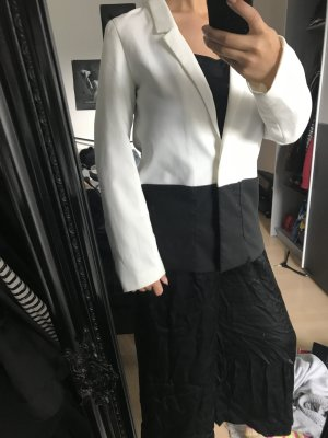 H&M Blazer smoking bianco-nero