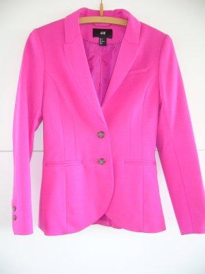 Eleganter Blazer pink H&M XS 34
