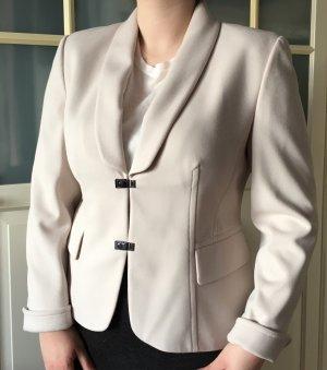 Gerry Weber Blazer in jersey beige chiaro-grigio chiaro