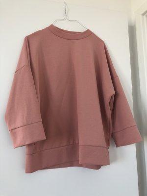 Opus Jersey de manga corta rosa empolvado-rosa