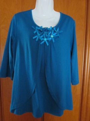 eleganter Damen-Pullover mit Glitzersteinen