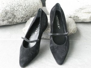 Unützer Zapatos Informales negro Gamuza