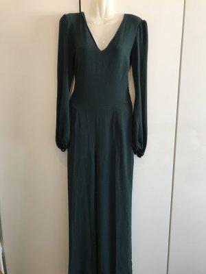 Eleganter dunkelgrüner Jumpsuit Gr. XS