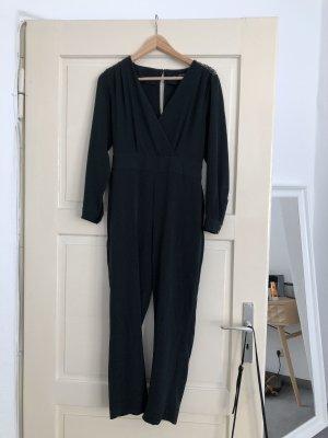 Eleganter dunkelgrüner Jumpsuit Zara