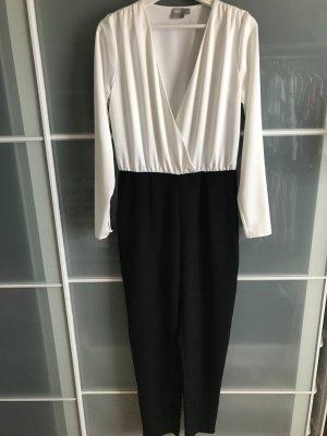 Asos Costume blanc-noir