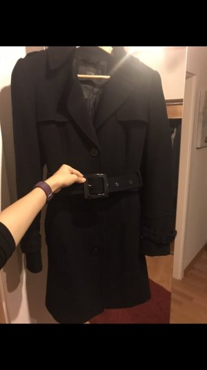 Eleganter Esprit Mantel Größe 38, schwarz