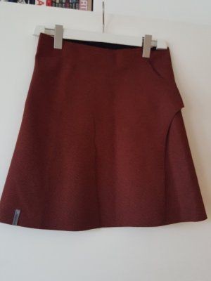 Wraparound Skirt multicolored synthetic