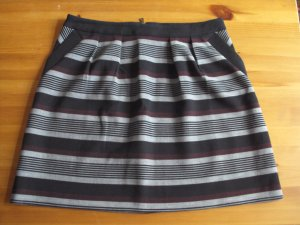 Promod Plaid Skirt multicolored polyester