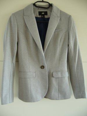 Eleganter grauer Blazer von H&M XS 34