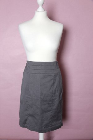 H&M High Waist Skirt multicolored cotton