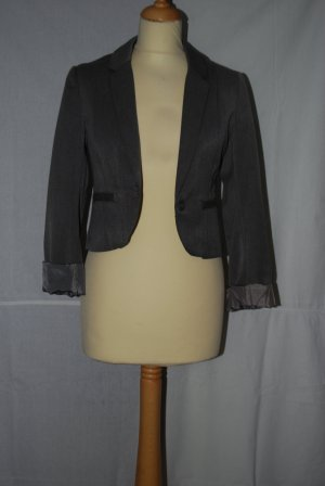 H&M Divided Short Blazer grey