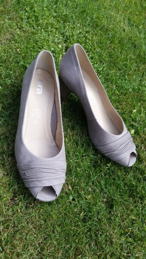 ara Pumps silver-colored-light grey