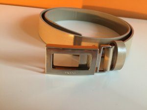 Prada Hip Belt nude leather