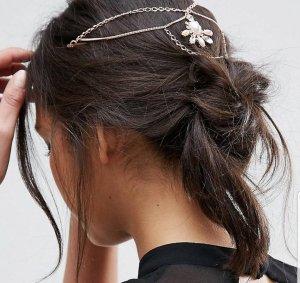 Eleganter Haarschmuck mit Kunstperlen