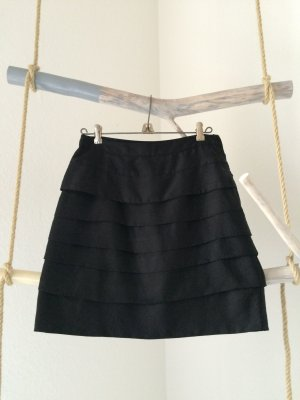 H&M High Waist Skirt black polyester