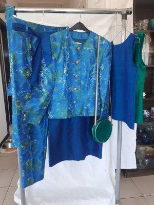 Mondi Traje de pantalón multicolor Seda