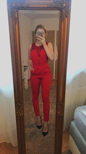 Vestido de lentejuelas rojo