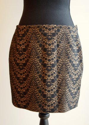 de.corp by Esprit Lace Skirt multicolored polyester
