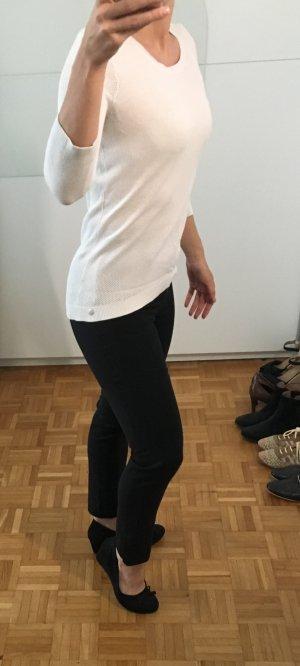 Eleganter Pullover s. Oliver Gr. 34 schneeweiß