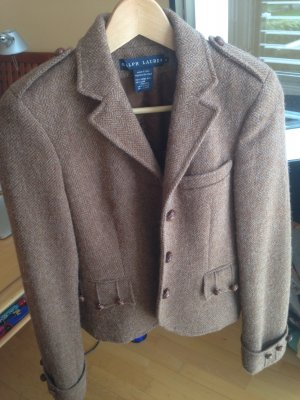Ralph Lauren Wool Blazer brown-light brown