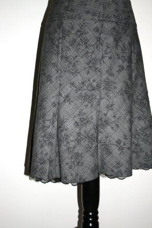 Orsay Lace Skirt grey-black