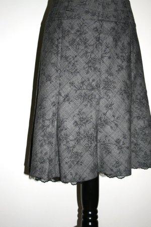 Orsay Kanten rok grijs-zwart