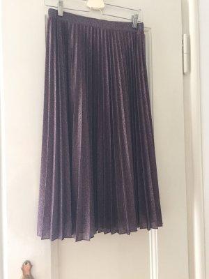 Max & Co. Jupe à plis bleu violet-argenté