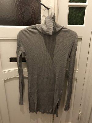 Eleganter Rollkragenpullover Pullover in Grau Greige von Helmut Lang