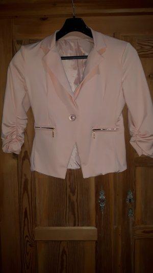 Eleganter rosafarbener Blazer