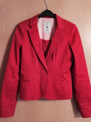 Eleganter roter Blazer von Tom Tailor