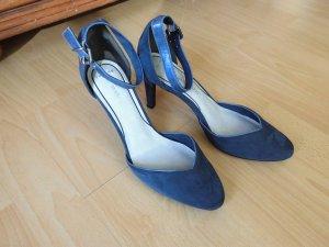 Eleganter Schuh in taubenblau!