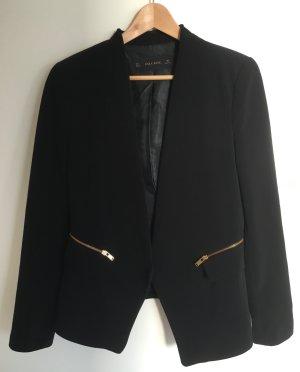 Eleganter schwarzer Blazer von Zara, Gr. L