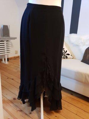Vera Mont Falda con volantes negro