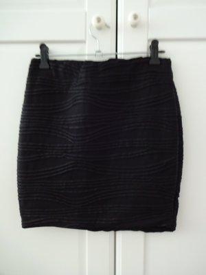 eleganter schwarzer Minirock