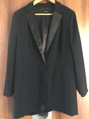 Eleganter schwarzer Smoking Blazer
