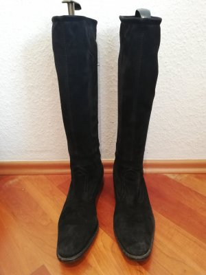 Peter Kaiser Jackboots black leather