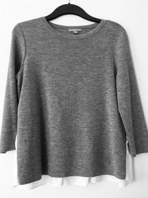 Eleganter Sweater mit eingenähten Blusenelementen von COS