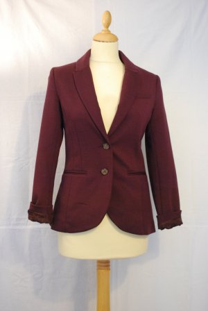 H&M Sweat Blazer purple-brown violet