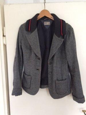 Tommy Hilfiger Tweed Blazer dark grey wool