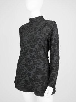 Eleganter Vintage Pullover mit Floral-Stickerei