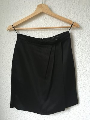 Mango collection Asymmetrische rok zwart Viscose