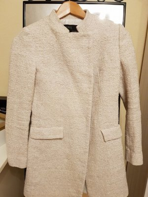 Zara Basic Manteau court multicolore