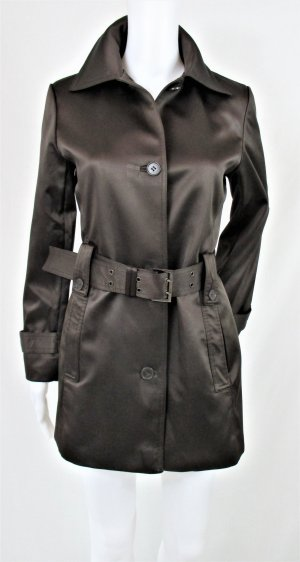 Zara Woman Trenchcoat donkerbruin Polyester