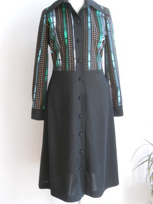Elegantes 70er Jahre Vintage Kleid aus Dänemark Gr. 40/42