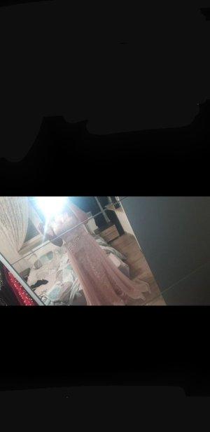 100% Fashion Abito da sera color oro rosa