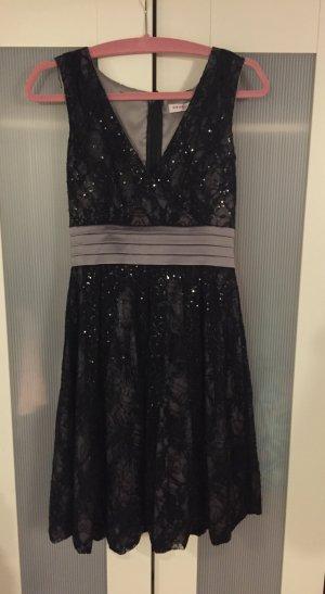Elegantes Abendkleid / Cocktailkleid mit Spitze und Pailletten