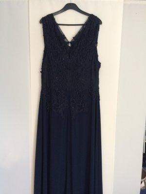 Ashley Brooke Vestido azul-azul oscuro